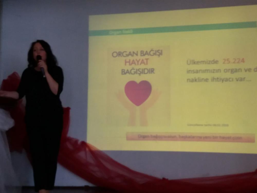 Çarşamba Ali Fuat Başgil Anadolu Lisesi Organ Bağış Eğitimi