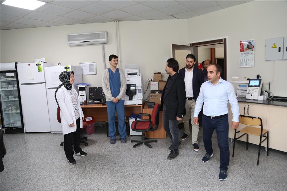 İl Sağlık Müdürümüz Dr. Mahmut UÇAR, Pazaryolu ve İspir İlçesinde bulunun Sağlık Tesislerini Ziyaret etti