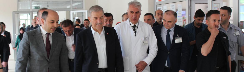 Sağlık Bakanımız Sayın Ahmet Demircan, Yeni Havza Devlet Hastanemizi Ziyaret Etti
