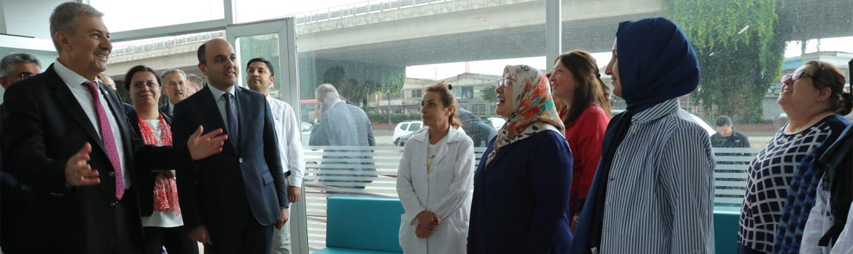 Sağlık Bakanımız Sayın Ahmet Demircan, Canik Sağlıklı Hayat Merkezimizi Ziyaret Etti