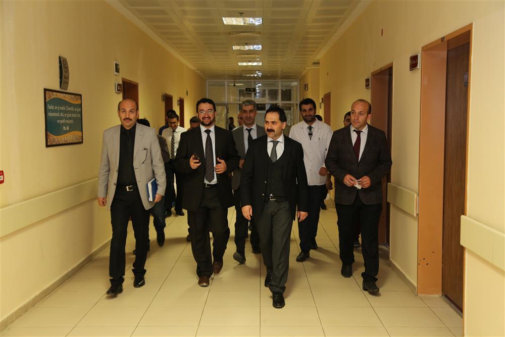 İl Sağlık Müdürümüz Dr. Mahmut UÇAR, Karaçoban ve Hınıs İlçelerinde bulunun Sağlık Tesislerimizi Ziyaret etti