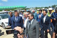 şehir hastanesi inşaatı ziyaret edildi