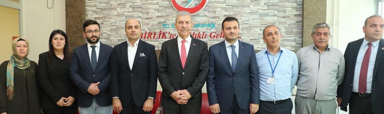 Sağlık Bakanımız Sayın Ahmet Demircan, Asarcık Devlet Hastanemizi Ziyaret Etti