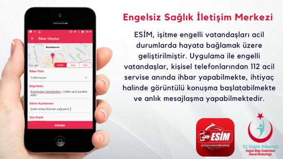 Engelsiz Sağlık İletişim Merkezi (ESİM) Hizmete Sunuldu