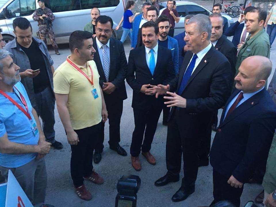 Sayın Bakanımız Dr. Ahmet DEMİRCAN İftar Programı