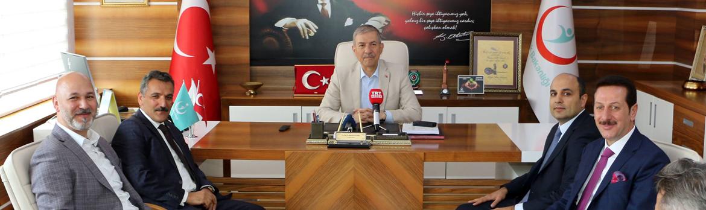 Sağlık Bakanımız Sayın Ahmet Demircan İl Sağlık Müdürlüğümüzü Ziyaret Etti