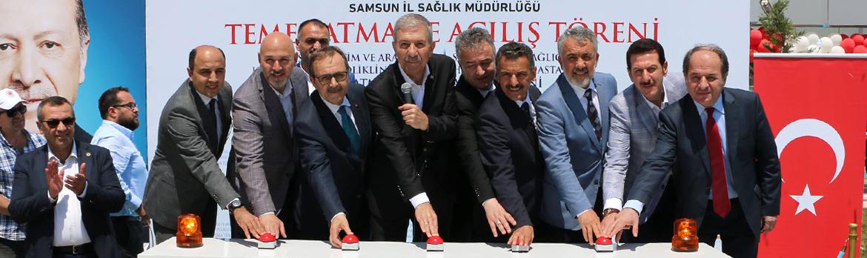 Temel Atma ve Açılış Törenimiz Sağlık Bakanımız Sayın Ahmet Demircan'ın Teşrifleriyle Gerçekleştirildi