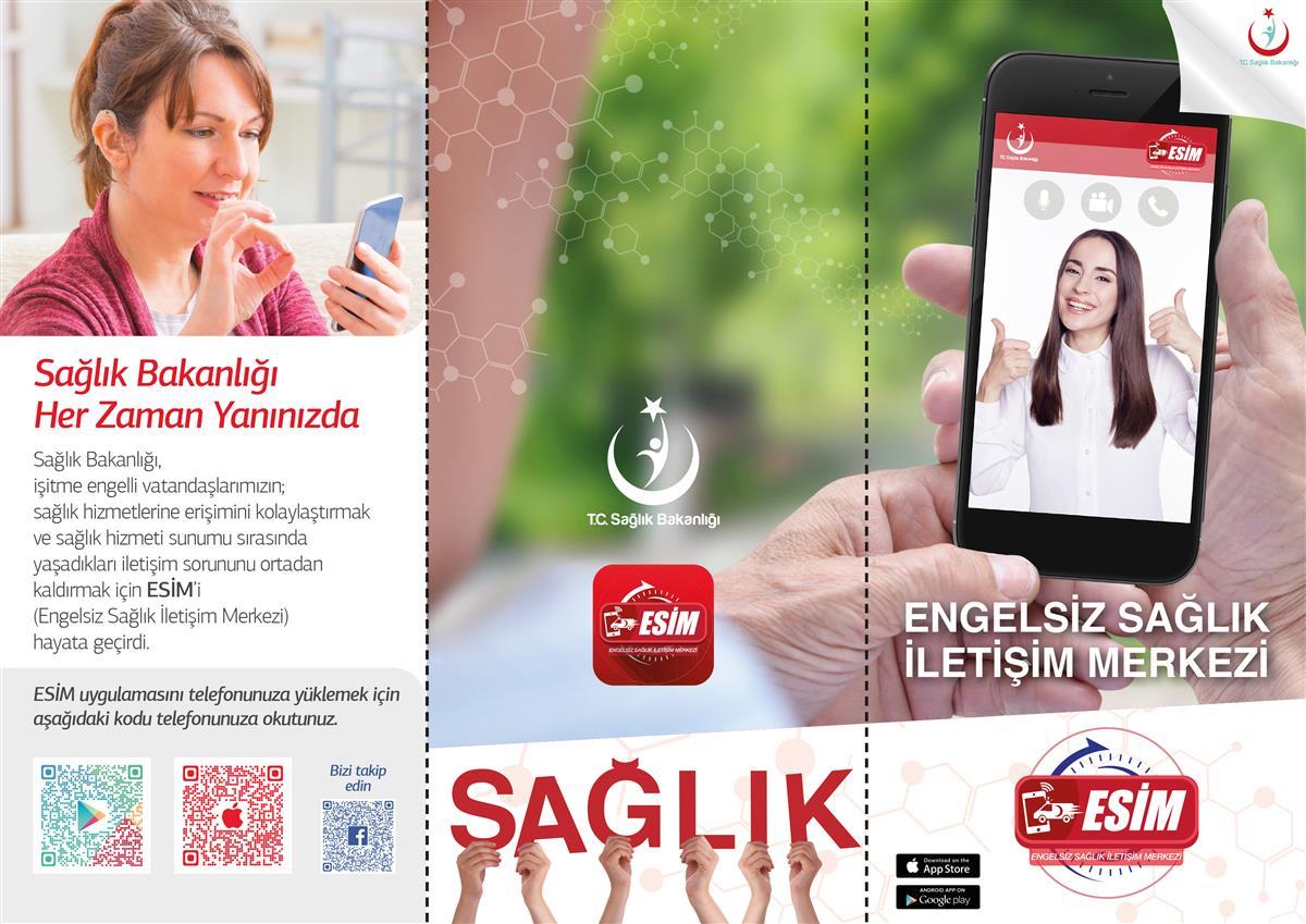 Engelsiz Sağlık İletişim Merkezi (ESİM) Uygulaması