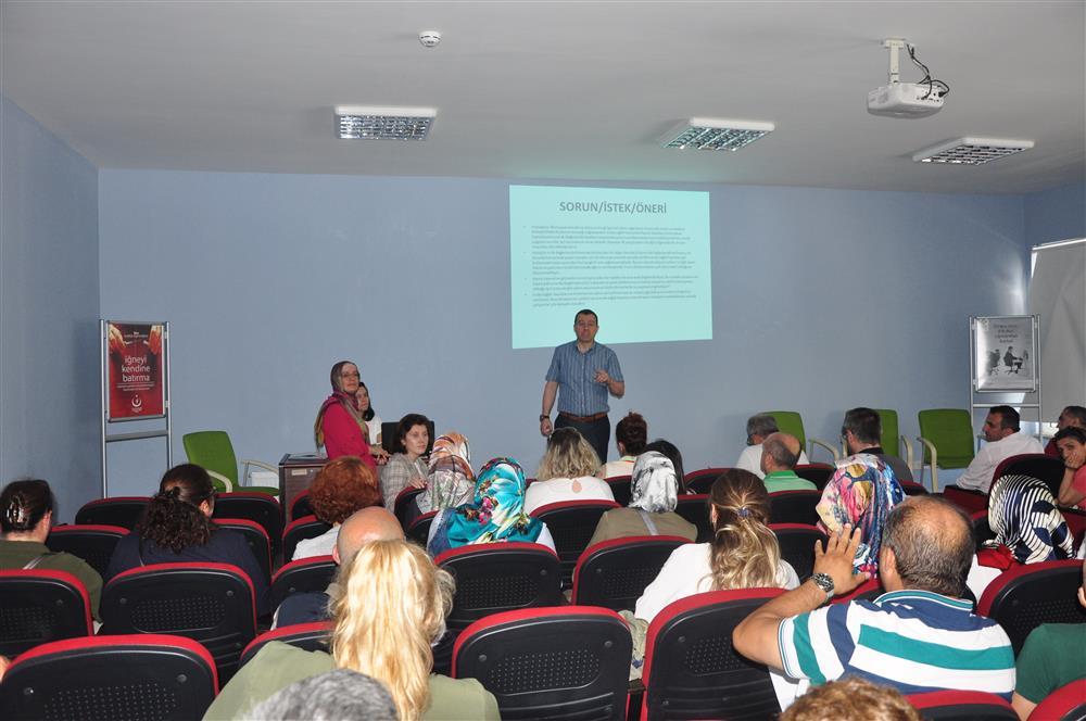 Evde Sağlık Hizmetleri Değerlendirme Toplantısı Düzenlendi
