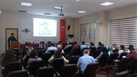 Gemlik Gümrük Müdürlüğü'nde 6 Haziran ve 8 Haziran tarihlerinde gerçekleştiren tüm kurum personeline yönelik gerçekleştirilen seminer