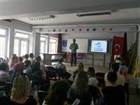 Mümin Geçoğlu 1 İlkokulu Müdürlüğü'nde 20 Haziran tarihinde gerçekleştiren tüm kurum personeline yönelik gerçekleştirilen seminer