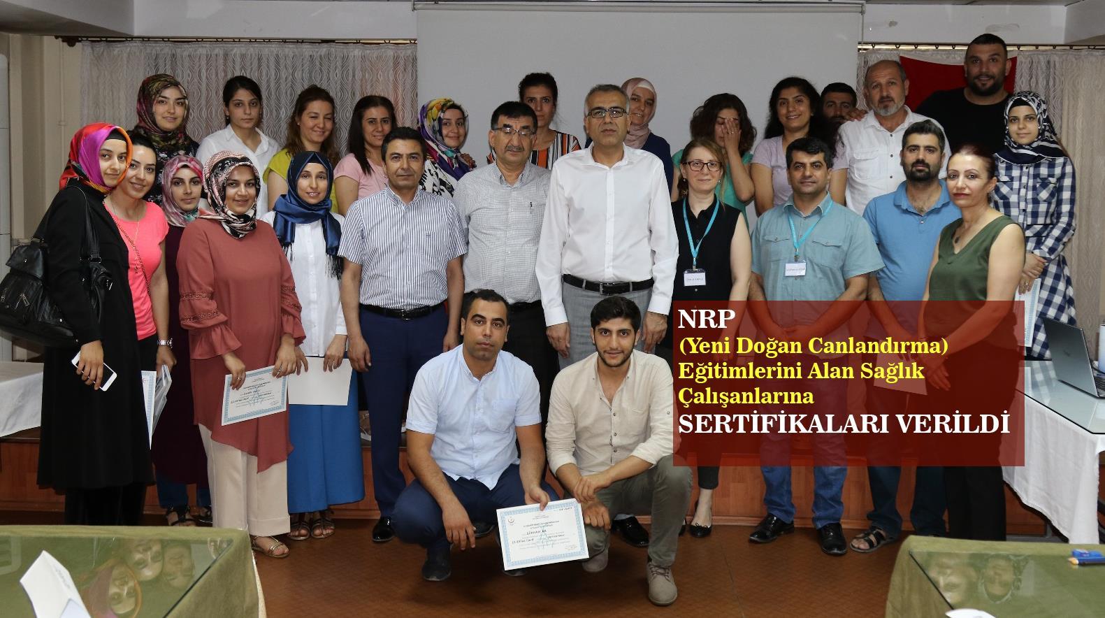 Kapak_Yeni Dogan Canlandirma (NRP) Egitimini Alan Saglikcilara Sertifikalari Verildi.png