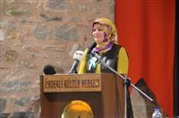 Büyükşehir Başkan Vekili Mihrimah KOCABIYIK tarafından konuşma yapıldı.
