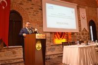 Bursa İl Sağlık Müdürü Dr. Özcan AKAN tarafından konuşma yapıldı.