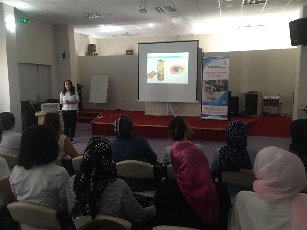 Samsun Çocuk Destek Merkezinde Organ Bağışı ve Organ Nakli Eğitimi