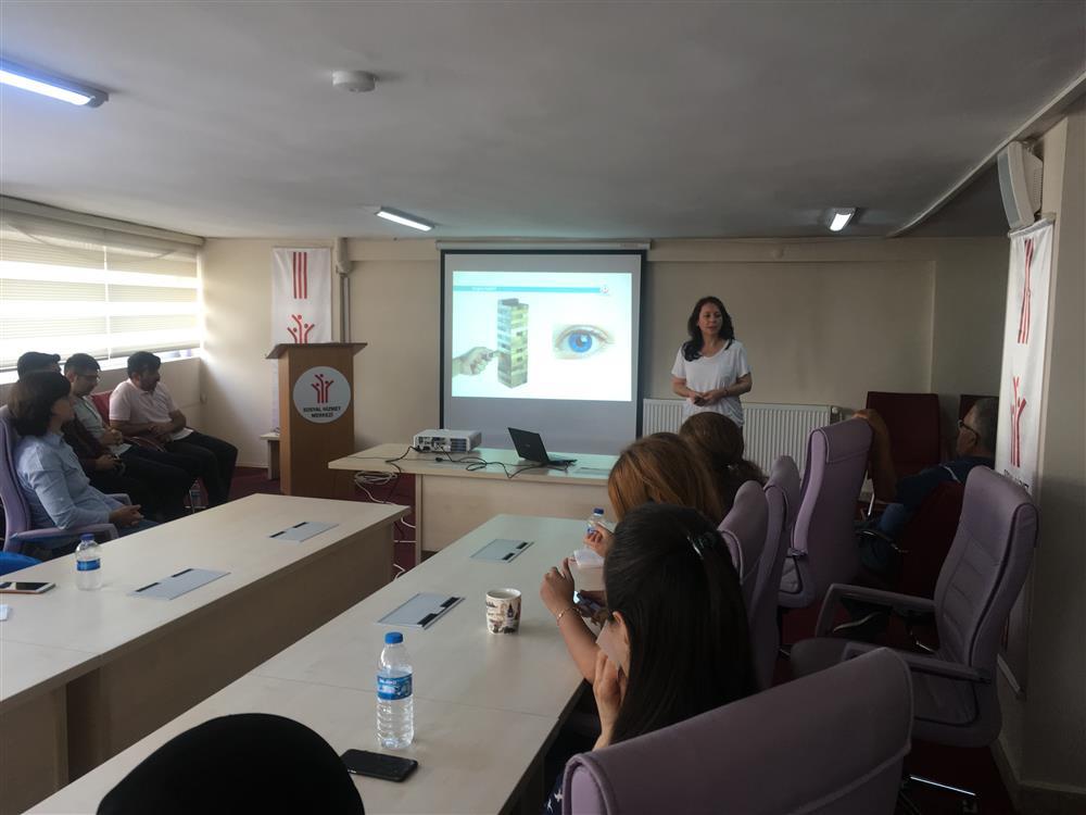 Çarşamba Sosyal Hizmet Merkezi Müdürlüğünde Organ Bağışı ve Nakli Eğitimi