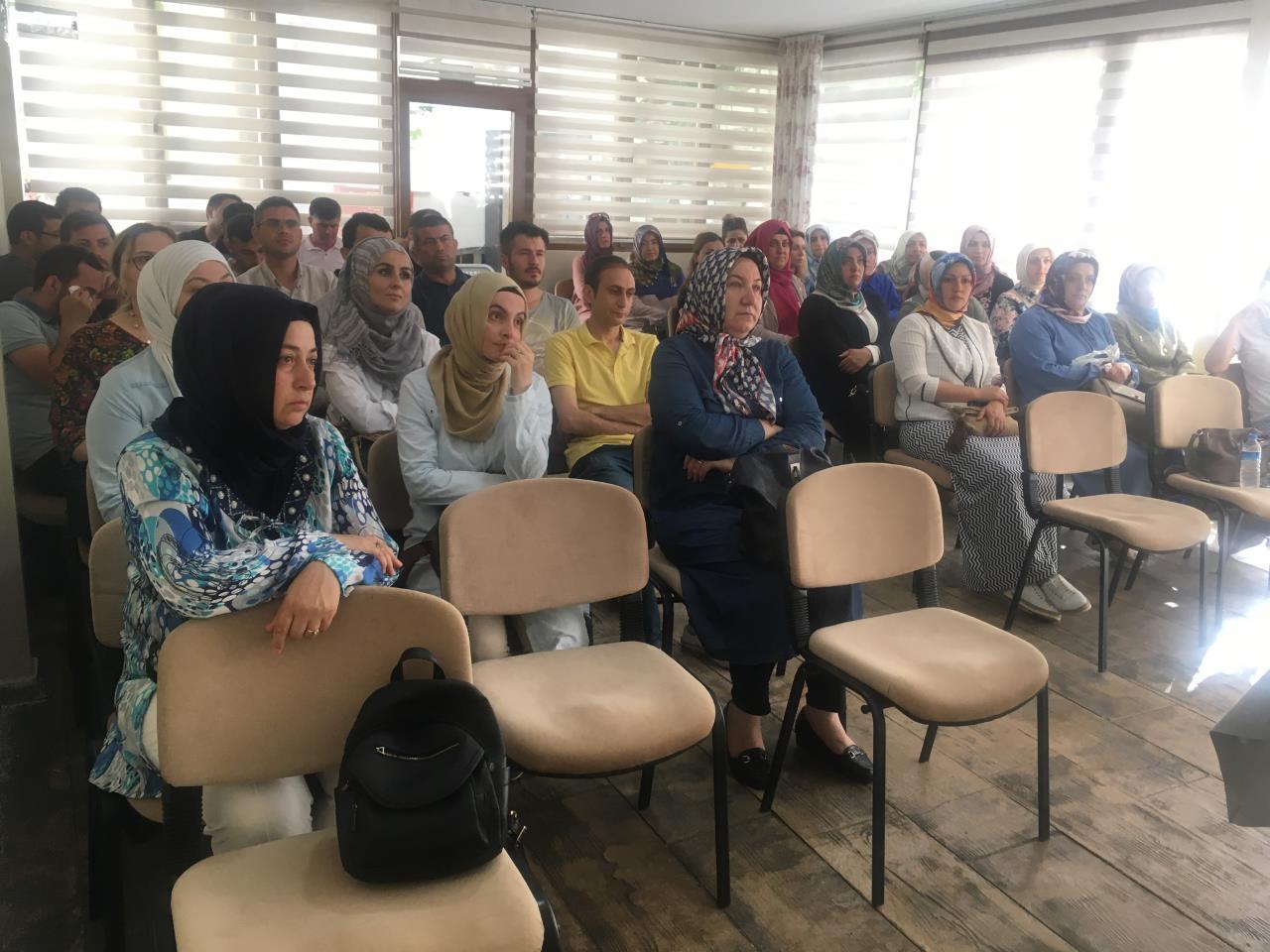 Samsun Çocuk Evleri Koordinasyon Merkezinde Organ Bağışı ve Nakli Eğitimi