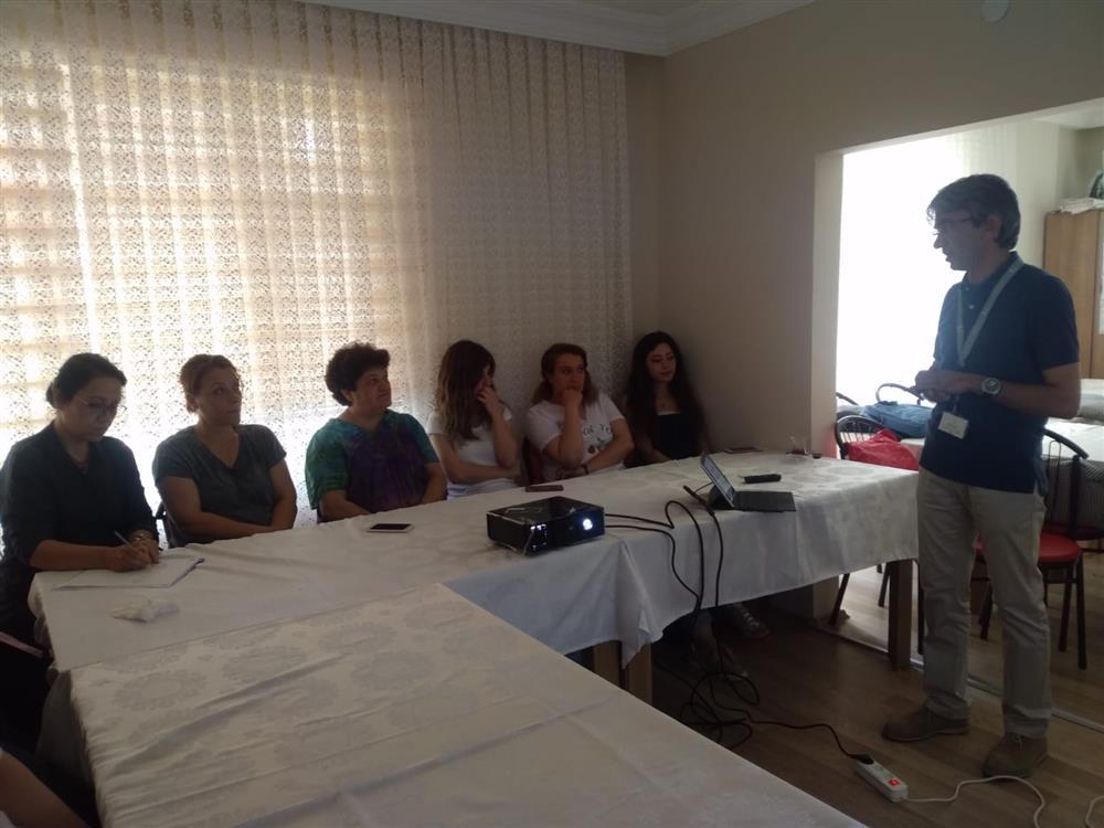 Samsun Atakum Kadın Konukevinde Organ Bağışı ve Nakli Eğitimi