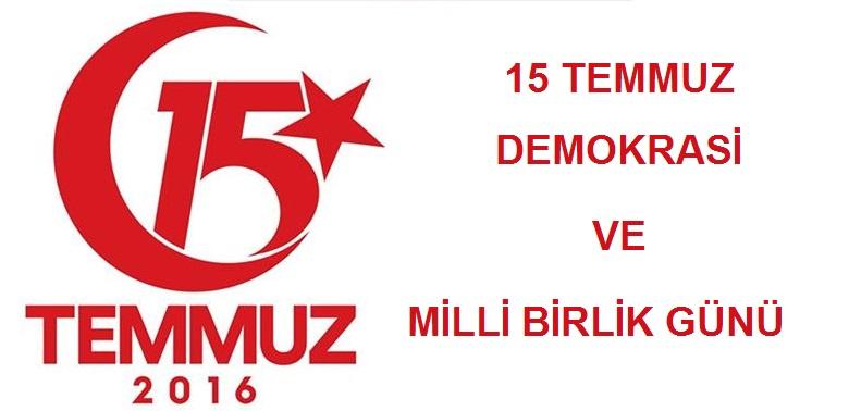 15 Temmuz Demokrasi Ve Milli Birlik Gününe Davet