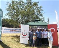 İl Sağlık Müdürlüğü Acil Sağlık Hizmetleri Başkanı Dr. Hüseyin KAPLAN kurulan standı ziyaret etti.
