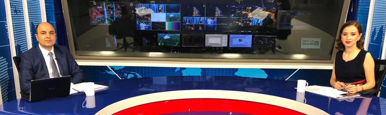 Sağlık Müdürümüz Haber AKS Tv'ye Canlı Yayın Konuğu Oldu
