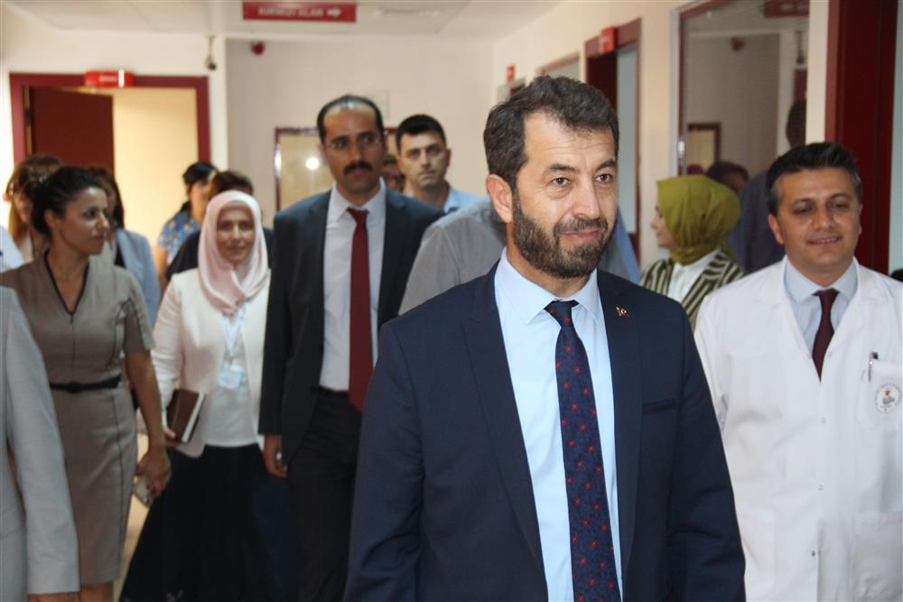İl Sağlık Müdürümüzün SBÜ Ankara Dr. Sami Ulus Kadın Doğum, Çocuk Sağlığı ve Hastalıkları Eğitim ve Araştırma Hastanesine Ziyareti