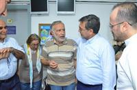 Dr. Akan, Bursa Ağız ve Diş Hastanesinde vatandaş ile sohbet etti