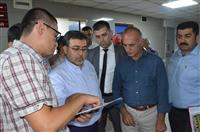 Dr. Akan yanık merkezi planlamasını hakkında yönetimden bilgi aldı