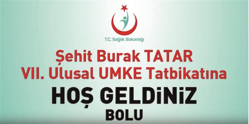 5-6 Mayıs 2018 tarihlerinde ilimizde gerçekleştirilen Şehit Burak TATAR VII. Ulusal UMKE Tatbikatı