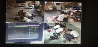 Eğitimde senaryo boyunca hareketli ve sabit kameralardan alınan görüntüler yer almaktadır.