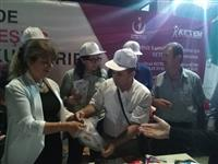 Halk Sağlığı Hizmetleri Başkanı Dr. Esma KUZHAN kurulan standı ziyaret ederek vatandaşlara bilgiler verdi.