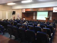 Halk Sağlığı Hizmetleri Başkanımız Dr. Esma KUZHAN'ın açılış konuşması.