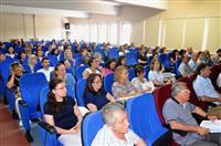 Katılımcılar Legionella Eğitimini dinlerken.