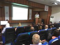 Uz. Dr. Mustafa DEMİRÖZ tarafından Lejyoner Hastalığı hakkında bilgilendirme konuşması.