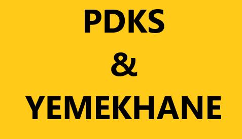 Pdks ve Yemekhane Web Uygulaması