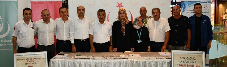 Valimiz Sayın Osman Kaymak, Eşi İle Birlikte Organlarını Bağışladı