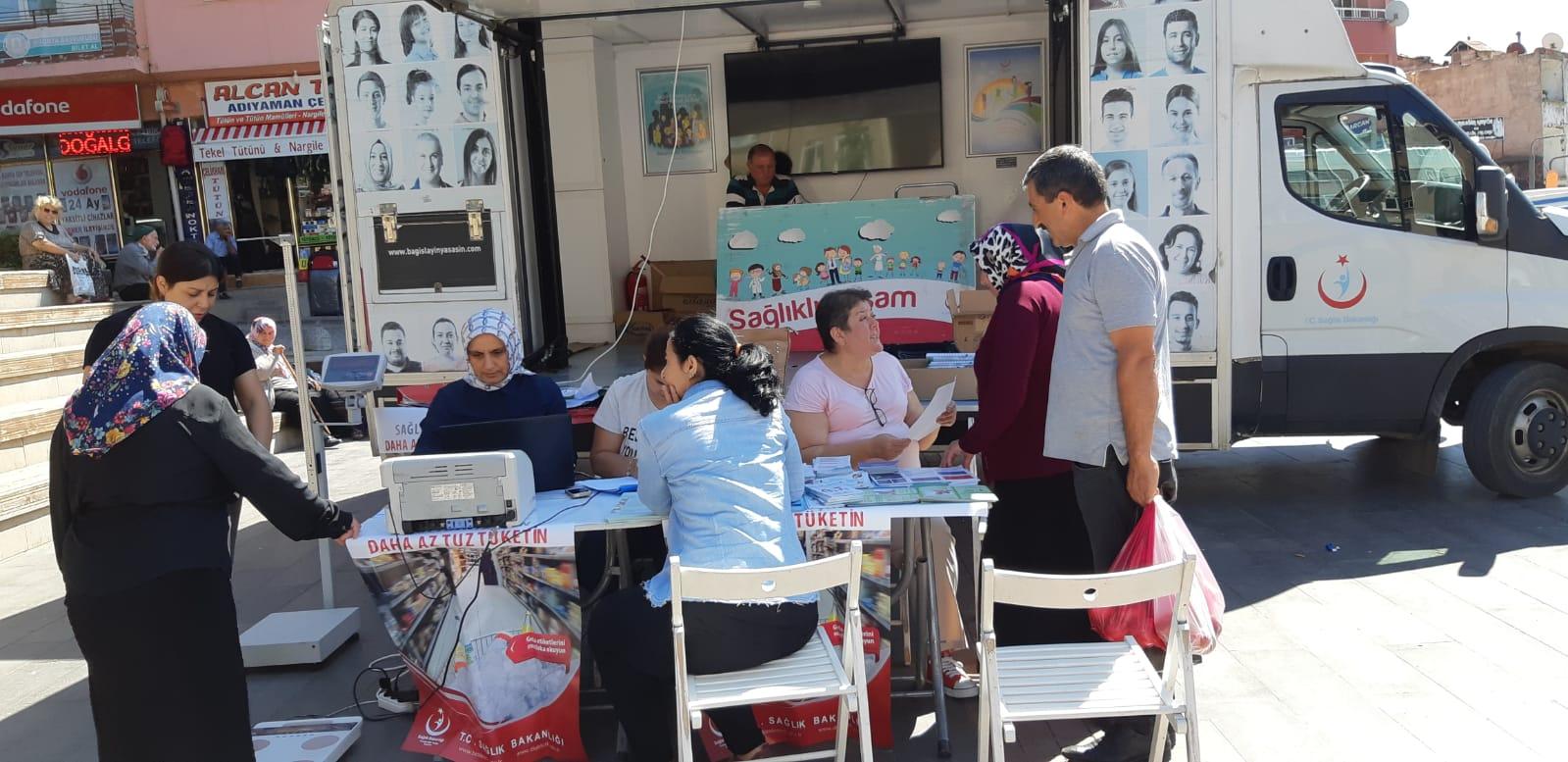 Ulubey'de Halk Sağlığı Haftasında Stant Açıldı