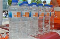 SULTANSU şişelerinde AİK sloganları