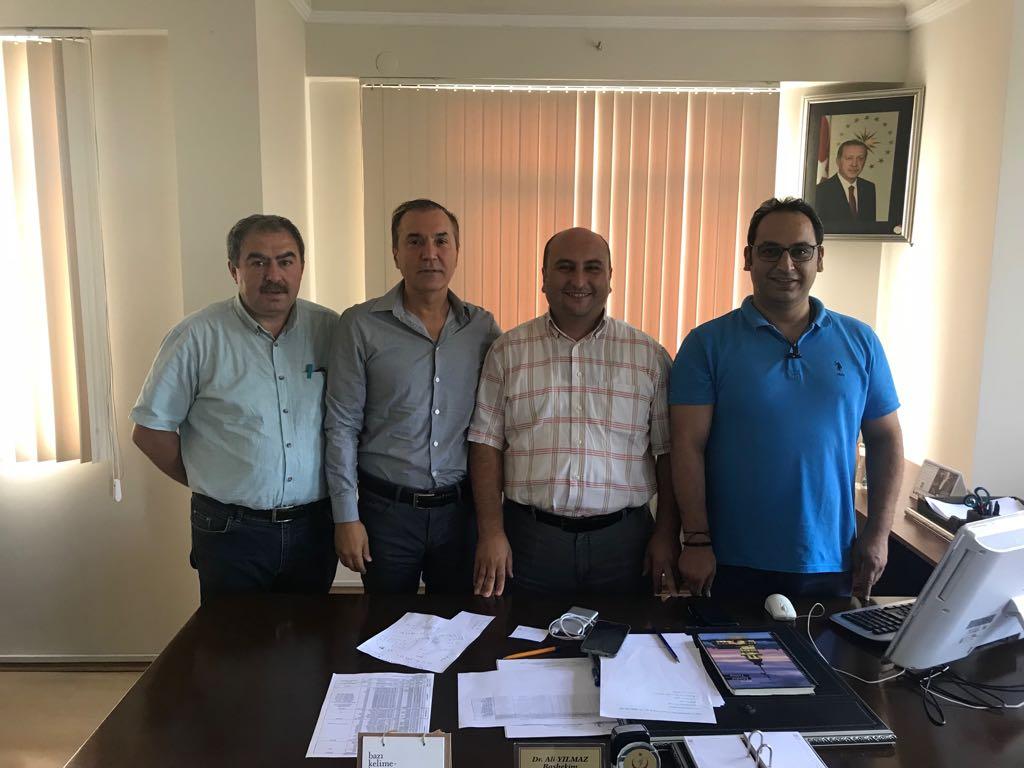 112 Başhekimi Dr. Ali YILMAZ 'ı Makamında Ziyaret