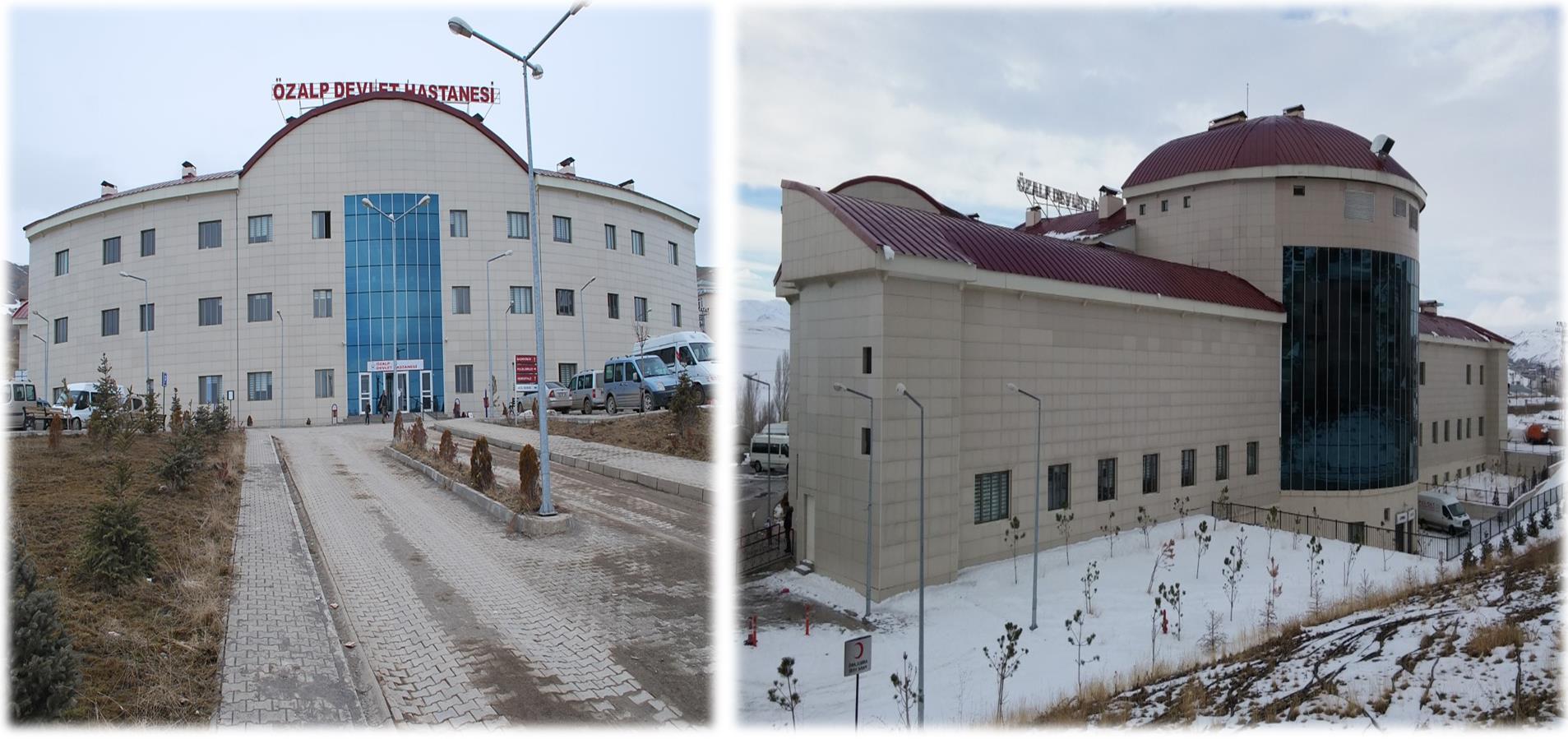 Özalp Devlet Hastanesinin Yapımı
