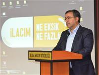 İl Sağlık Müdürü Dr. Özcan AKAN açılış konuşmasını yapıyor