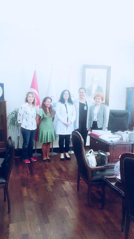 Zekai Tahir Burak Kadın Sağlığı ve Hastalıkları Eğitim Araştırma Hastanesine ziyaret