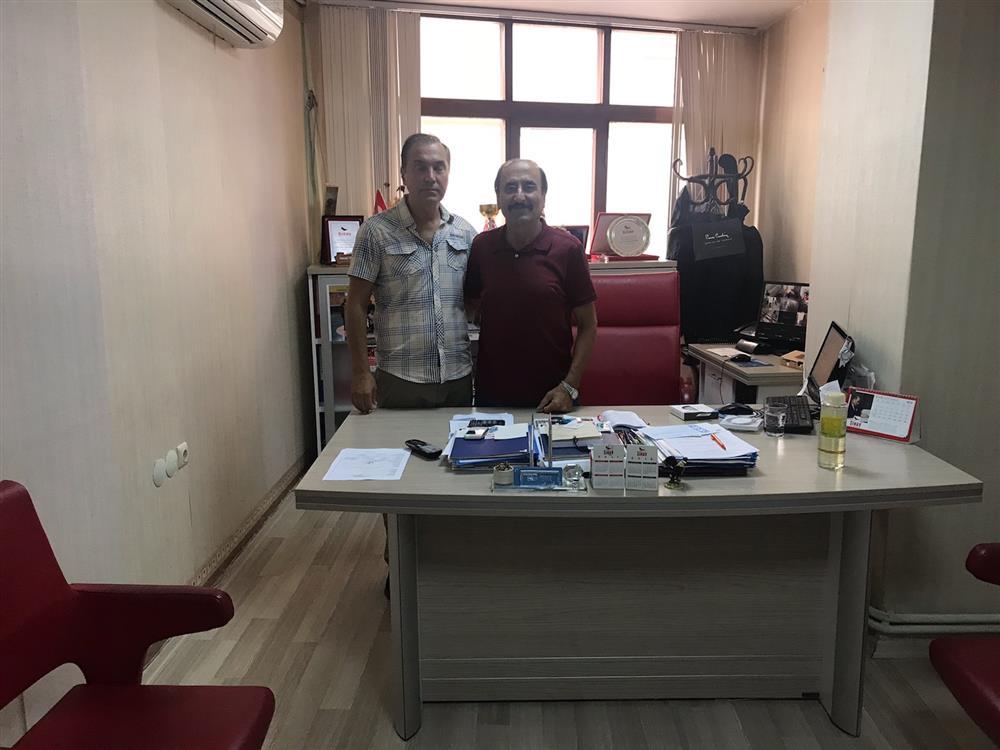 Özel Sınav Okulları Müdürü Osman TEBER'i Makamında Ziyaret