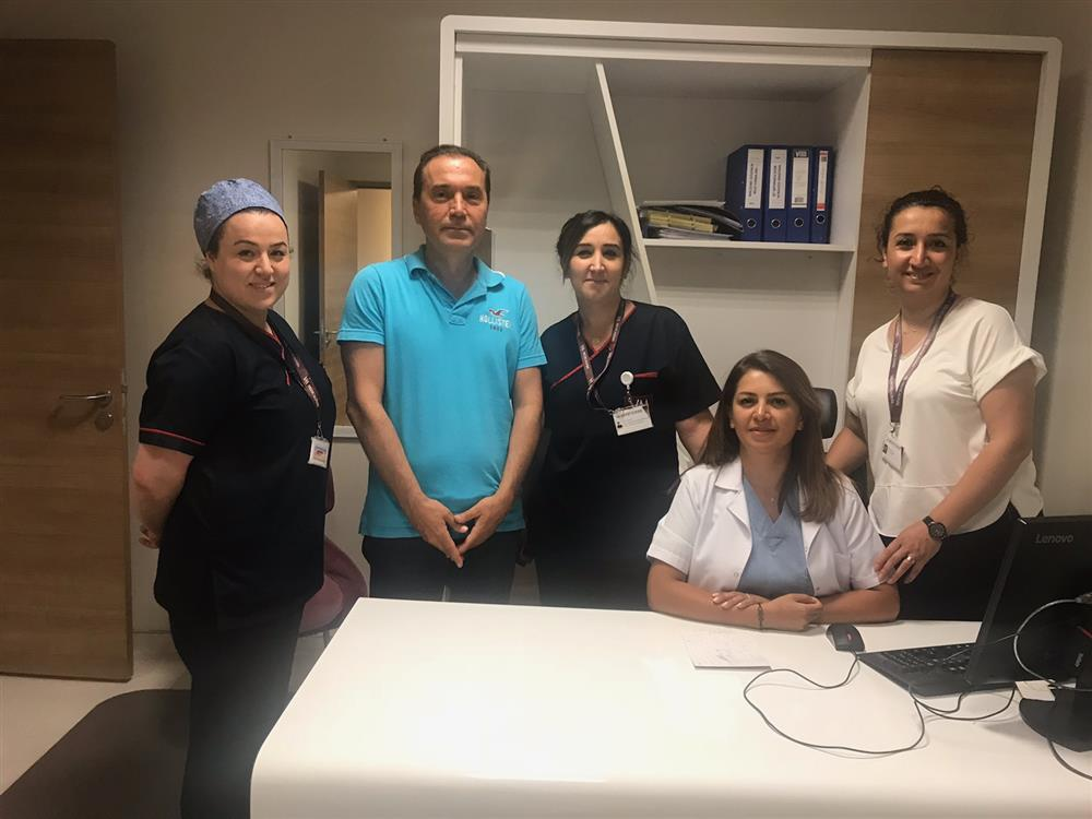 Özel Medicalpark Hastanesi Yoğunbakım Ünitesini Ziyaret