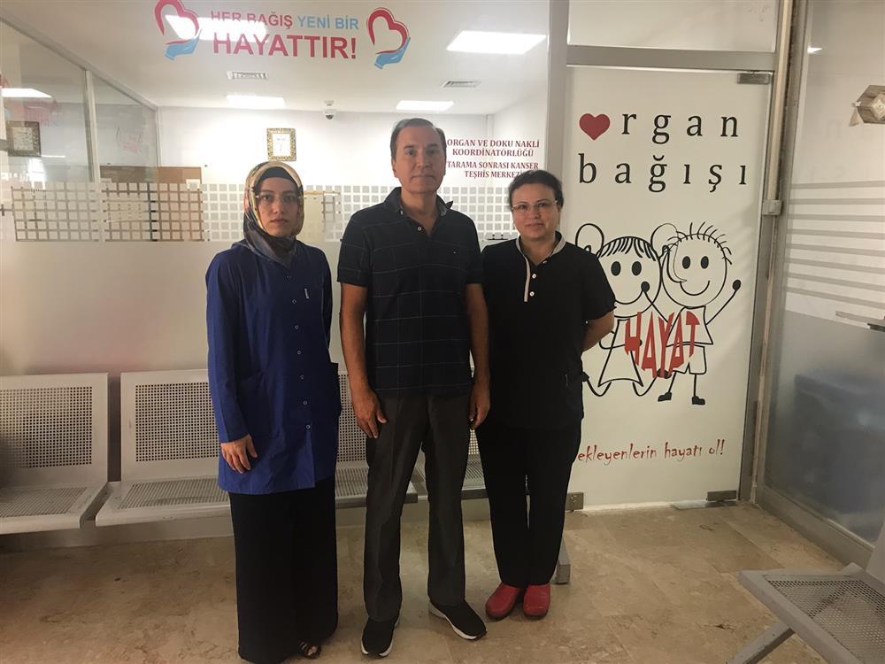 Gazi Devlet Hastanesi Organ Bağışı Birimine Ziyaret