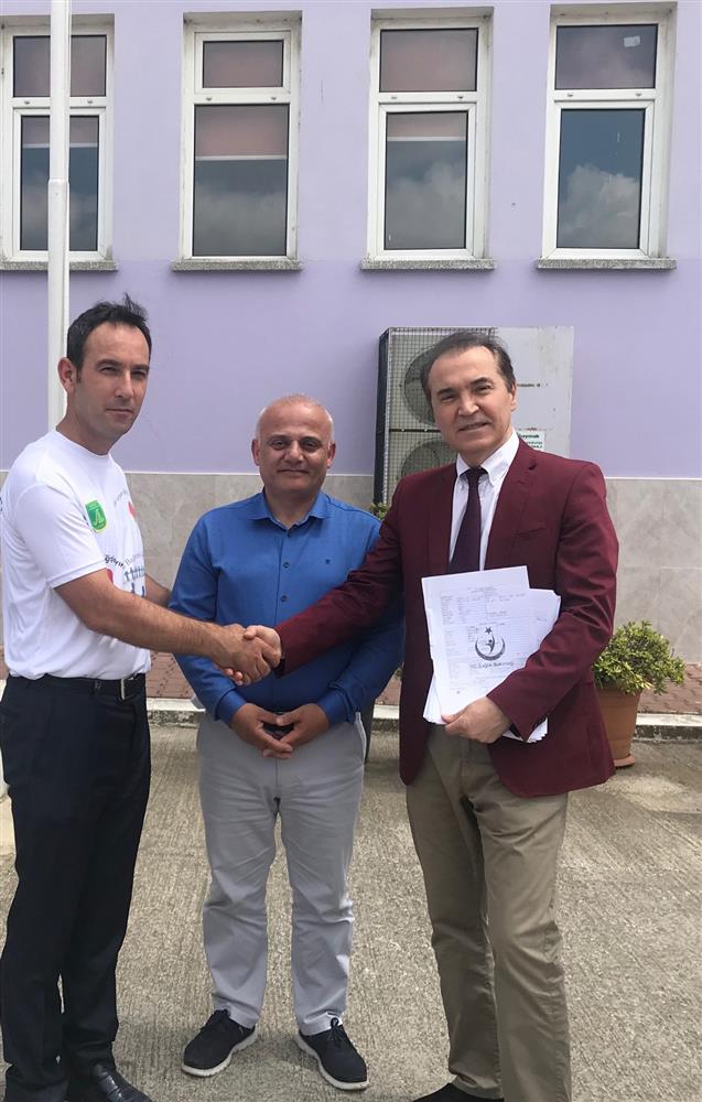 Bafra Anadolu Lisesi'nde Organ Bağışı Eğitimi