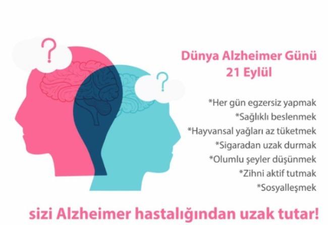 21.Eylül Dünya Alzheimer Günü