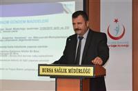 SSDK Acil Sağlık Hizmetleri Başkanının konuşmalarıyla başladı