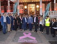 Bursa Büyükşehir Belediye Başkanı Alinur AKTAŞ ile Bursa İl Sağlık Müdürü Dr Özcan AKAN tarihi binanın önünü boyadı.