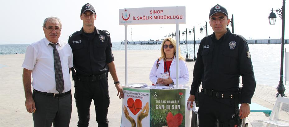 İskele Meydanın Organ ve Doku Bağışı Stantı Açıldı